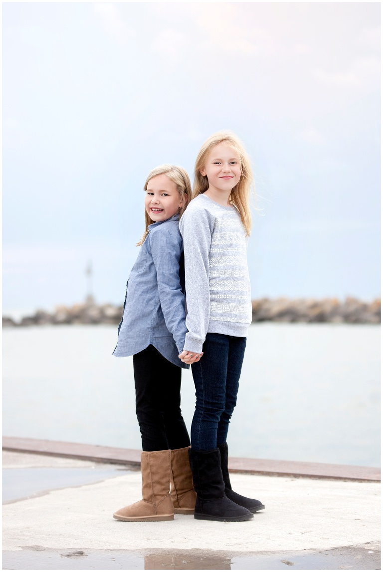 Happy Valley Goose Bay Larbrador Family Portraits Poirer Girls Ackland Photography Photographer