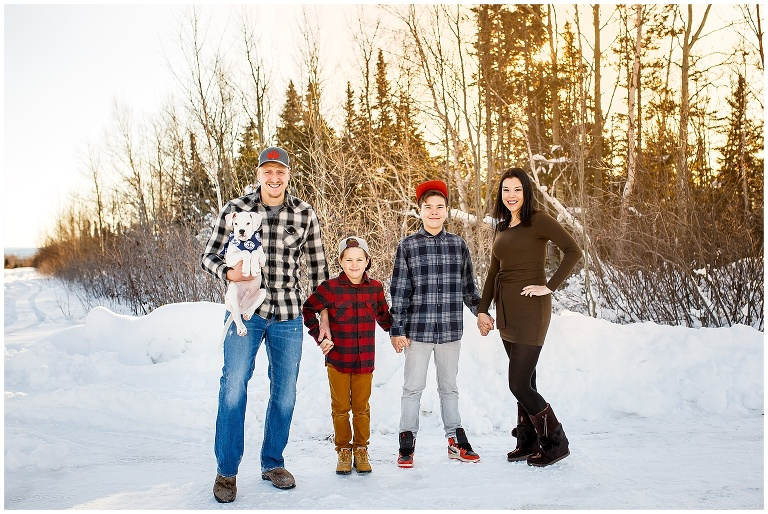 Happy Valley Goose Bay Family Wedding Photographer Ackland Photography Outdoor Winter Snow Portraits 1