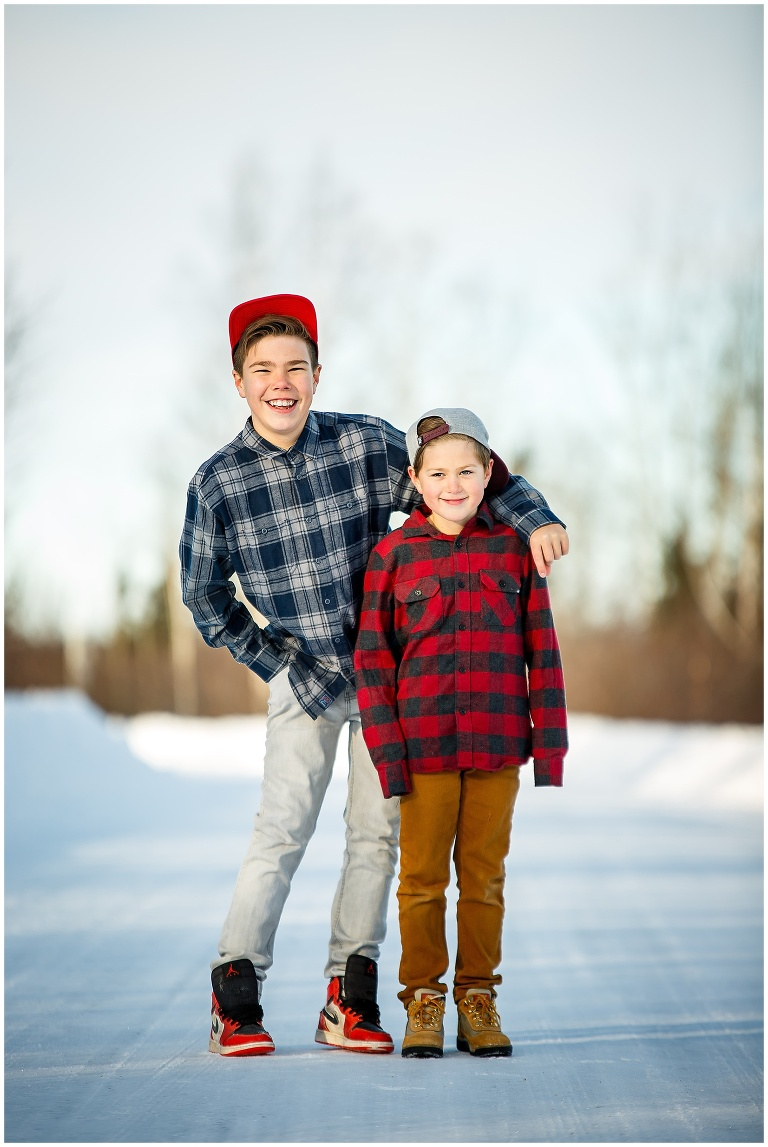 Happy Valley Goose Bay Family Wedding Photographer Ackland Photography Outdoor Winter Snow Portraits 5