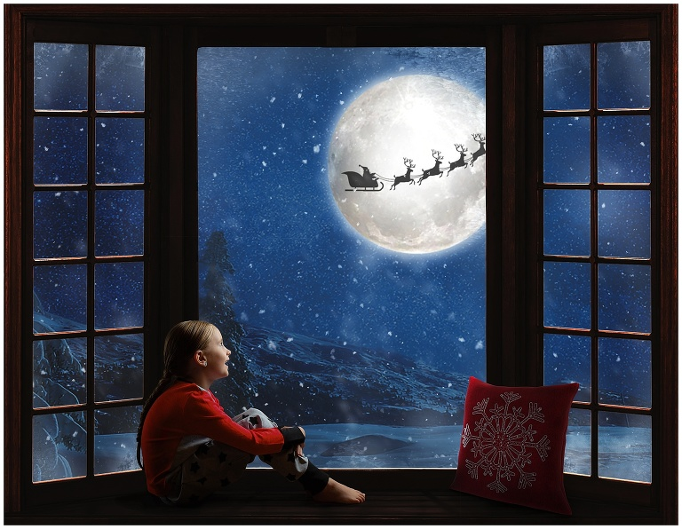 Ackland Photography Christmas Composite Portrait Happy Valley Goose Bay